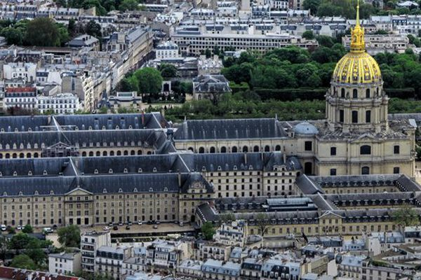 L'Hôtel des Invalides, à Paris.