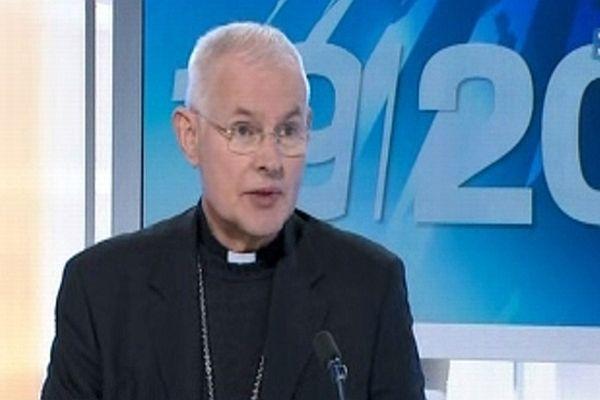 Mgr Pierre-Marie Carré, archevêque de Montpellier, élu vice-président de la conférence des évêques de France - mars 2013