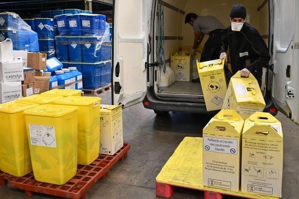 Cosmolys recycle des déchets contaminés : avec le coronavirus, elle cherche à développer de nouvelles technologies.