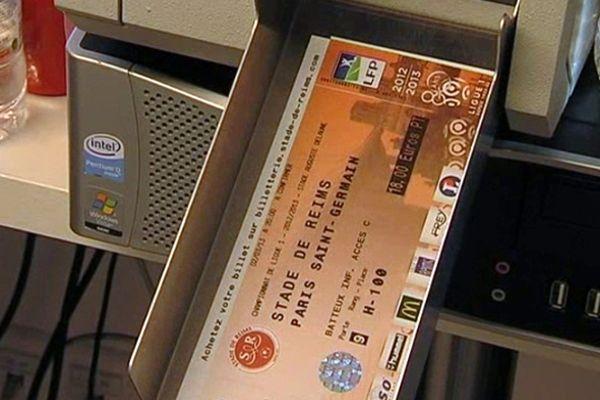 Billet Stade de Reims / PSG