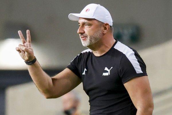 Le compte n'y est pas pour Jindrich Trpisovsky, entraîneur du Slavia Prague.