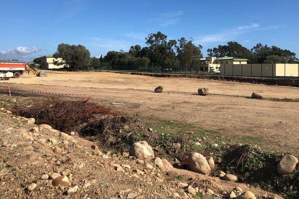 Un des terrains contestés par Core in Fronte.