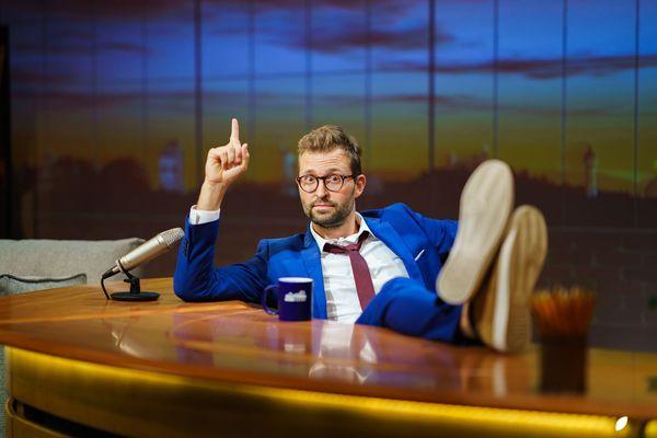 Philippe Sandmann présente chaque semaine Sùnndi's Kàter, notre Late Show du dimanche matin.