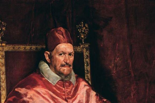 Portrait du pape Innocent X 1650 Huile sur toile, 140 x 120 cm Rome, Galleria Doria Pamphilj