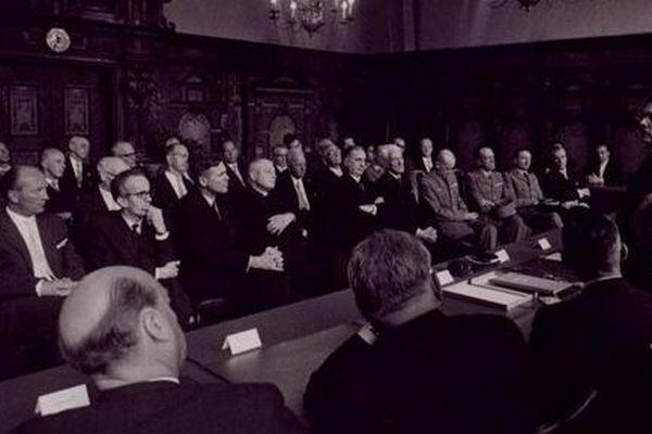 Le 6 juin 1959, Besançon et Fribourg signaient un jumelage.