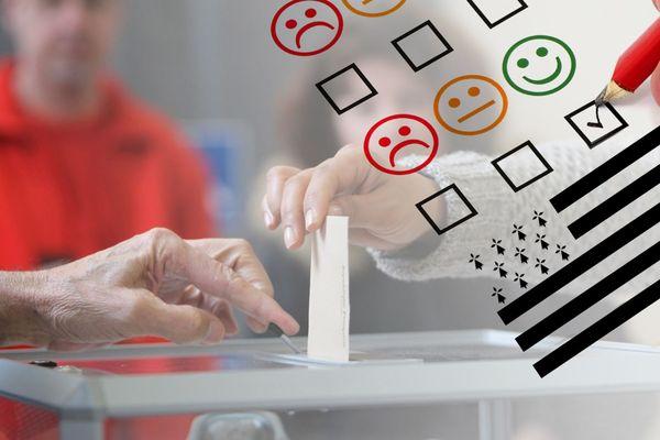 20 % des Bretons interrogés lors de cette enquête IPSOS-France 3 disent leur intention de voter pour le Rassemblement national au 1er tour des élections régionales