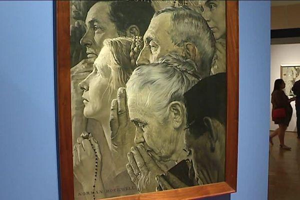 80 œuvres de Normand Rockwell seront exposées au Mémorial de Caen à partir du 10 juin 2019