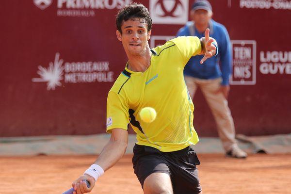 Rogerio Dutra Silva, tenant du titre de l'édition 2016 du tournois Primrose