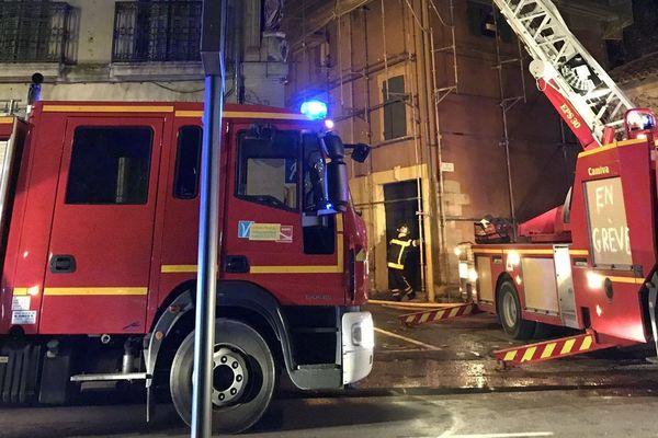 Les sapeurs-pompiers du SDIS 84 sont rapidement intervenus sur place.