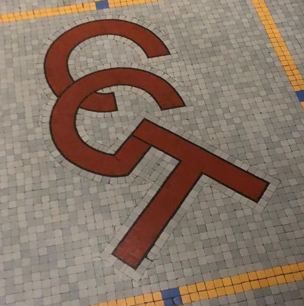 La CGT inscrite dans le sol