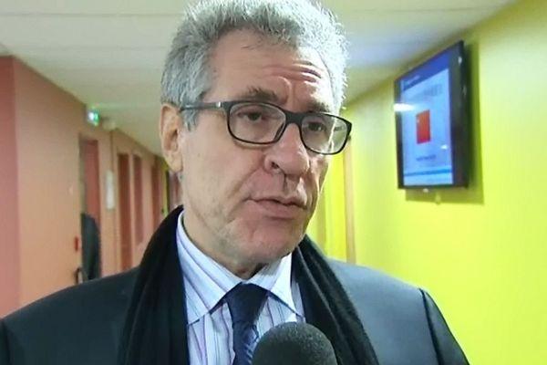 Emmanuel Limido, principal actionnaire de l'AJA et gérant du fonds d'investissement Paris Luxembourg Participations (archives décembre 2013)