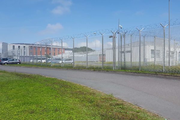 Le centre de rétention administrative de Rennes.