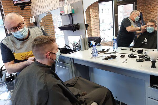 Marc Dollez, coiffeur pour homme à Albert