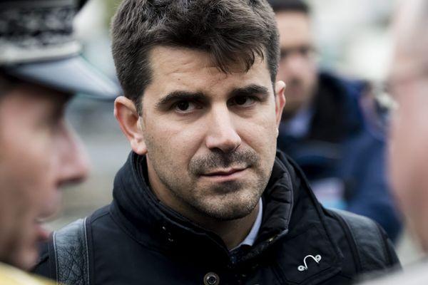 Mathieu Hanotin en 2018.
