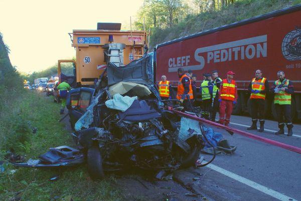 Accident mortel à Mouchard dans le Jura le 13 octobre 2017