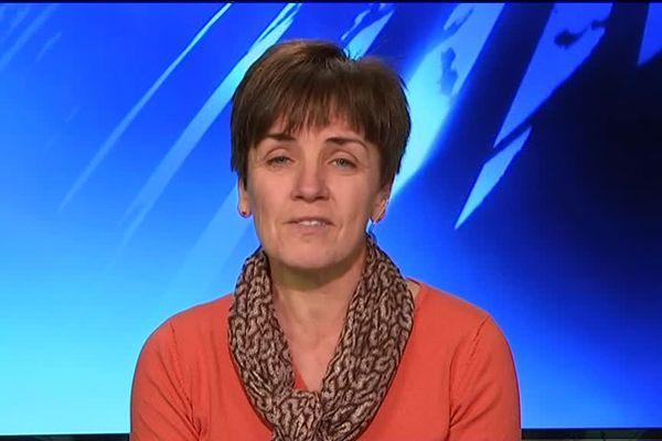 Sylvie Girard, présidente de la coordination rurale de Nouvelle Aquitaine