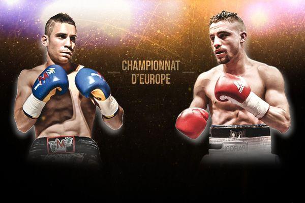 Luca Rigoldi vs Jérémy Parodi, championnat d'Europe de boxe le 17 novembre 2018