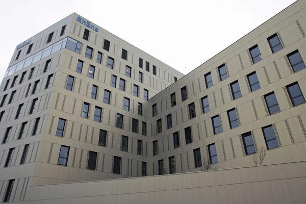 La nouvelle clinique Rhéna du Port du Rhin à Strasbourg