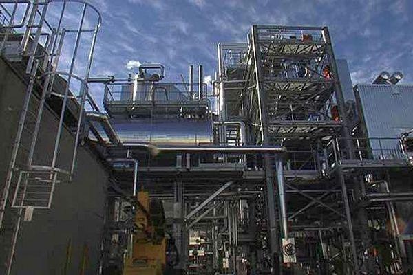 Sète (Hérault) - l'usine Saipol, filiale du groupe Avril, fabrique du biodiesel - octobre 2015.