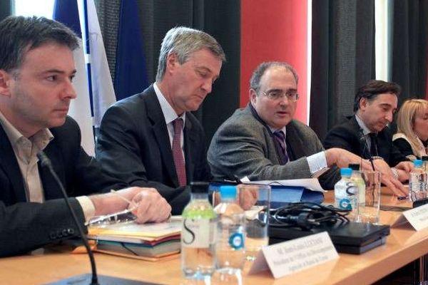 Jean-Louis Luciani (à gauche), futur candidat à la mairie de Afa (Archives)