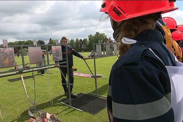 Dans la Somme, 29 casernes sont dotées d'unités Jeunes Sapeurs Pompiers, soit 400 futurs professionnels.