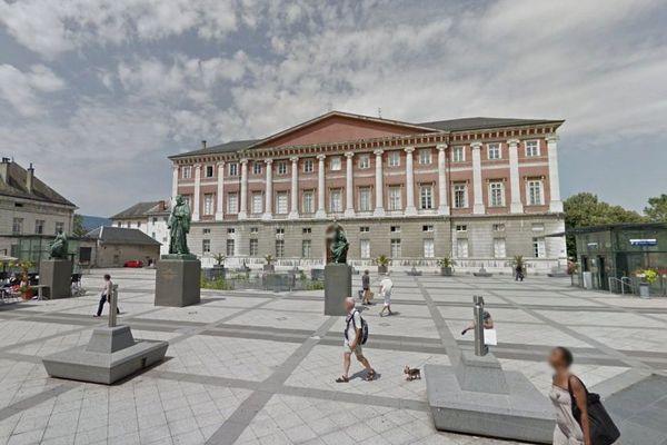Le Palais de justice de Chambéry.