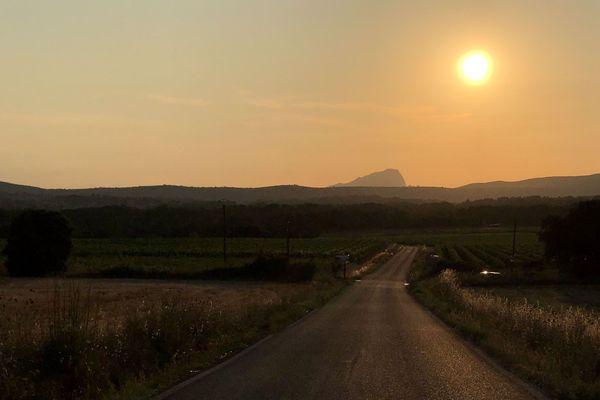 Record national de température battu, le 28 juin 2019 en Languedoc.