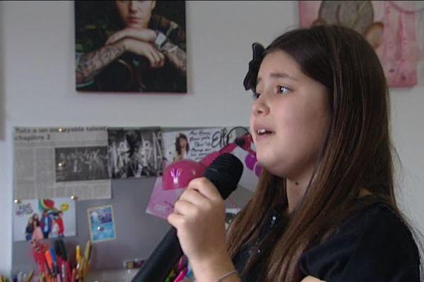 La jeune chanteuse Ema.