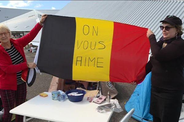 Les amis belges ne veulent pas rater l'événement !