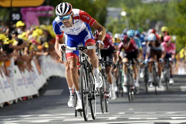 Thibaut Pinot, lors du Tour de France 2019.