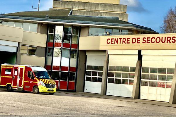 Le centre de secours des pompiers de la Haute-Vienne.
