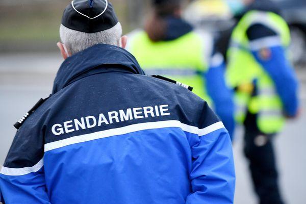 Des gendarmes dans l'exercice de leurs fonctions - Photo d'illustration