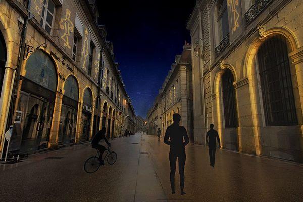 La rue de la Liberté.