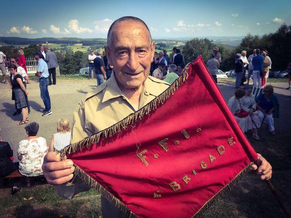 René Arnaud, maquisard dans la 1re brigade de marche du Limousin.