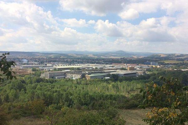 Le site de Constellium à Issoire dans le Puy-de-Dôme emploie 1 600 salariés.