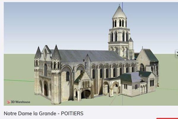 Notre Dame la Grande, un document de travail utilisé par les étudiants.