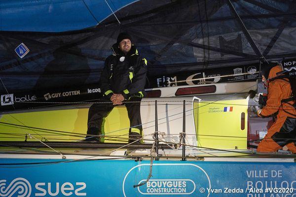 Stéphane Le Diraison termine le Vendée Globe 2020 à la 18e place