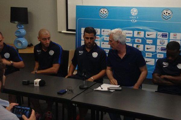 Conférence de presse du FC Tours