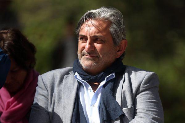 Georges Cristiani, maire de Mimet