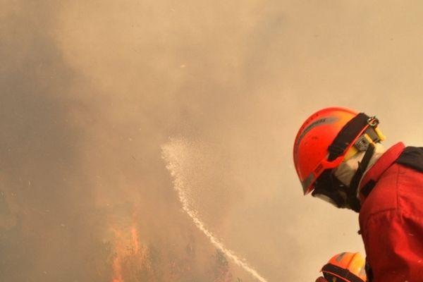 Premier incendie depuis la création du Parc National des Calanques.