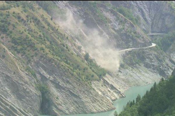 La chute des roches, ce samedi 4 juillet