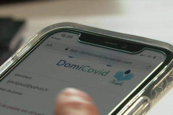 L'application DomiCovid a été pensé par une start-up montpelliéraine - janvier 2021