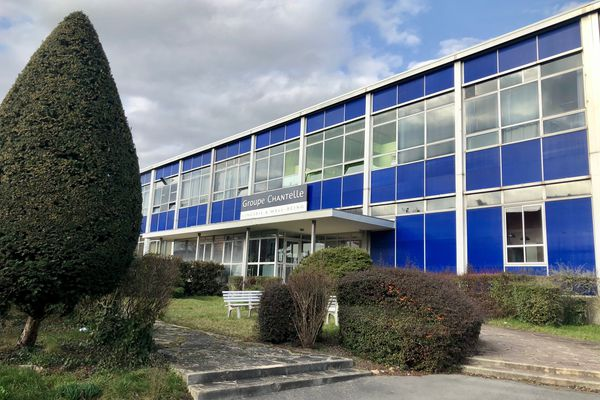 Le site de production historique de Chantelle, à Epernay, emploie 98 salariés. Ils étaient 215, il y a une dizaine d'années.