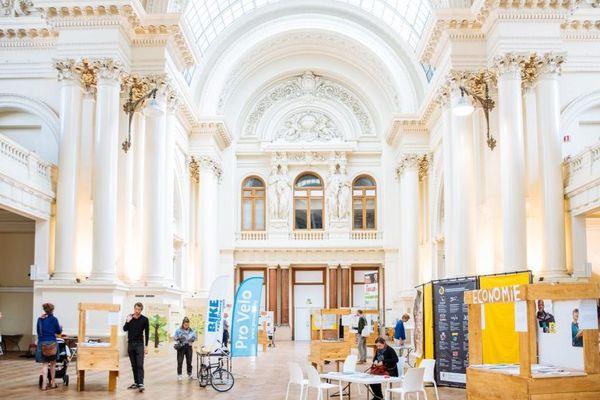 Le Musée du capitalisme se trouve à la Bourse de Bruxelles jusqu'au 13 septembre 2019.