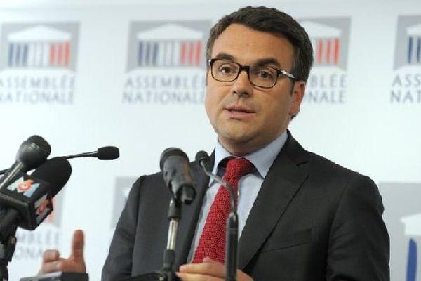 Thomas Thévenoud, député PS de la 1re circonscription de Saône-et-Loire