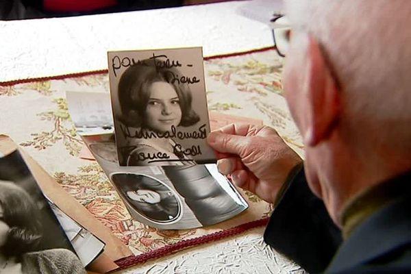 Jean-Pierre Lemasson évoque ses souvenirs de France Gall, venue en concert à Couhé en 1964. Ici une photo qui lui est dédicacée.