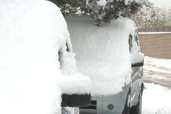 Des températures extrêmement basses ont été constatées dans l'Hérault et dans le Gard, en plaine, depuis le début de la semaine.
