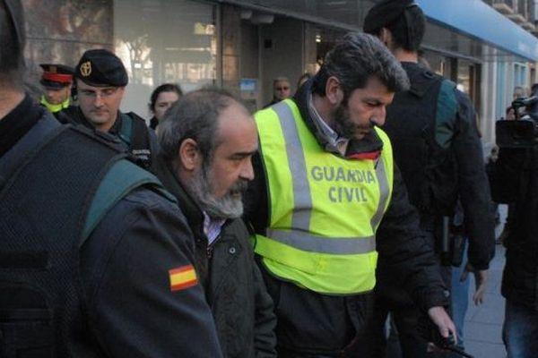 L'opération côté espagnol à Tarragonne le 28 janvier 2015