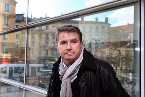 L'agriculteur charentais, Paul François, à l'ouverture en première instance du procès qui l'oppose à Monsanto, à Lyon en décembre 2012.