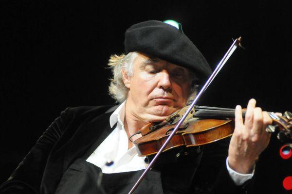 Didier Lockwood en 2014 au festival Jazz in Marciac